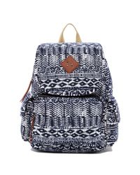 Madden Girl | Blue Jersey Aztec Print Backpack | Lyst