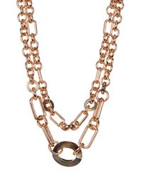 Vince Camuto - Multicolor Chain Link Layer Necklace - Lyst