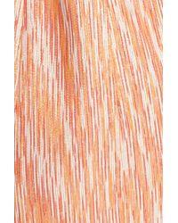 Alice + Olivia - Pink Pacey Deep-v Neck Lantern Dress - Lyst