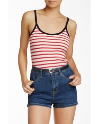 Edith A. Miller | Red Printed Camisole | Lyst
