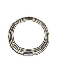 Cole Haan | Metallic Paracord Wrap Bracelet | Lyst