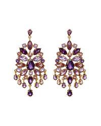 Carolee - Multicolor Chandelier Earrings - Lyst