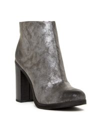 BC Footwear | Gray Crowd Chunky Ankle Boot | Lyst