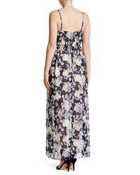 Soprano | Multicolor Woven Print Maxi Dress | Lyst