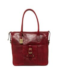 Frye | Red Parker Leather Tote | Lyst
