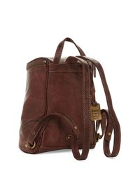 Frye - Brown Campus Small Leather Backpack - Lyst