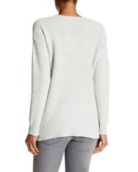 Madewell - Gray Windward Pullover Sweater - Lyst