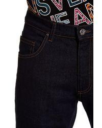 Versace - Blue Regular Fit Jean for Men - Lyst