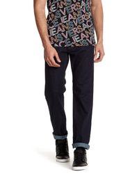 Versace | Blue Regular Fit Jean for Men | Lyst