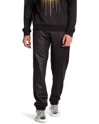 Versace | Black Print Sweatpant for Men | Lyst