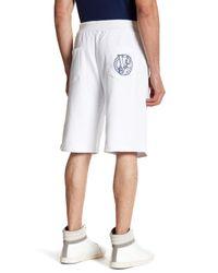 Versace - White Drawstring Solid Short for Men - Lyst