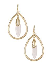 Cara - Multicolor Charm Teardrop Dangle Earrings - Lyst