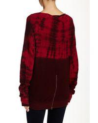 Pam & Gela - Red Annie Sweatshirt - Lyst