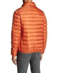 Tumi - Orange Convertible Puffer Jacket for Men - Lyst