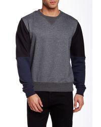 Unyforme - Gray Kean Crew-neck Pullover for Men - Lyst