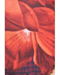 Ted Baker - Multicolor Juxtapose Rose Triangle Bikini Top - Lyst