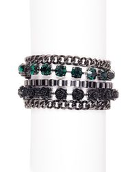 French Connection | Multicolor Multi-row Bracelet | Lyst