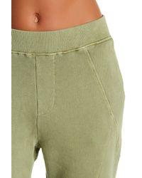 Fine by Superfine - Green Seamed Sweatpants - Lyst