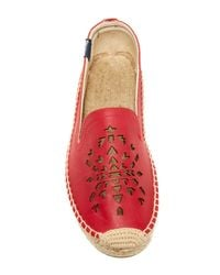 Soludos - Red Smoking Slipper - Lyst