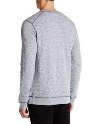 Wesc Gray Falcon Long Sleeve Pullover for men