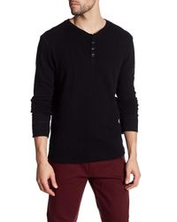 Gilded Age   Black Henley Sweater for Men   Lyst
