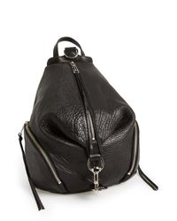 Rebecca Minkoff | Black 'julian' Backpack | Lyst