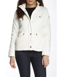 Vince Camuto | White Quilted Jacket | Lyst