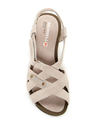 Merrell - Multicolor Revalli Cross Wedge Sandal - Lyst