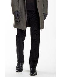 John Varvatos - Black Slim Fit Corduroy Pant for Men - Lyst