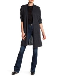 In Cashmere   Gray Long Cashmere Cardigan   Lyst