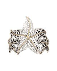 Lucky Brand - Multicolor Starfish Bold Cuff - Lyst