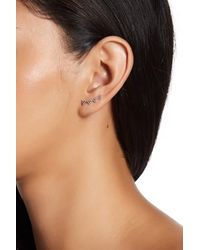 Lucky Brand - Multicolor Beaded Triangle Ear Crawlers - Lyst