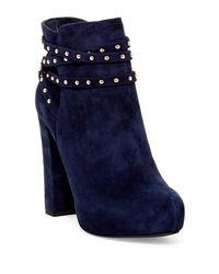 Jessica Simpson | Blue Marguerit Tassel Bootie | Lyst