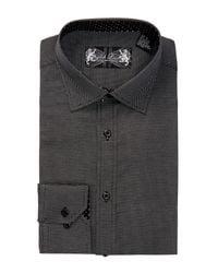 English Laundry | Black Stretch Trim Fit Dress Shirt for Men | Lyst