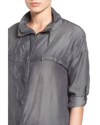 Kut From The Kloth - Gray Nia Utility Jacket - Lyst