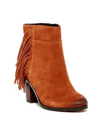 Kenneth Cole | Brown Alana Bootie | Lyst