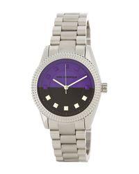 Karl Lagerfeld   Metallic Women's Stainless Steel Watch   Lyst