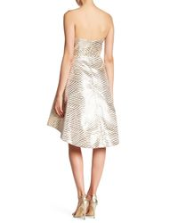 Lumier - White Come As You Are Strapless Dress - Lyst