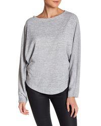 Olive & Oak - Gray Dolman Pullover Sweater - Lyst