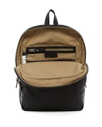 Marc By Marc Jacobs - Black Leather Backpack for Men - Lyst