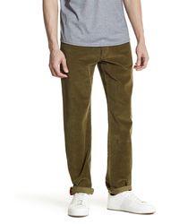 Victorinox | Green Sim Fit Corduroy Pant for Men | Lyst