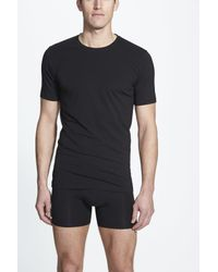 Naked | Black Essential 2-pack Stretch Cotton T-shirt for Men | Lyst
