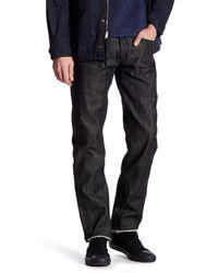 Rag & Bone - Black Straight Leg Jean for Men - Lyst