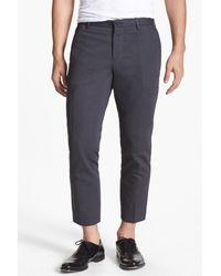 VINCE | Blue Ottoman Slim Fit Trouser for Men | Lyst