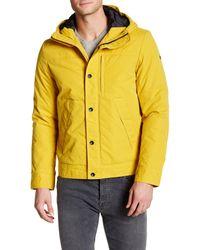Victorinox | Yellow L'epaule Hooded Jacket for Men | Lyst