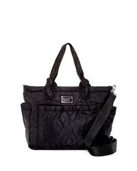 Marc By Marc Jacobs - Black Eliza Nylon Baby Tote - Lyst