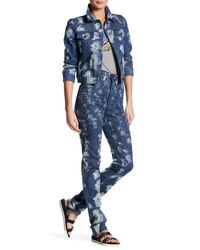 Marc Jacobs - Blue High Rise 3d Stovepipe Pant - Lyst