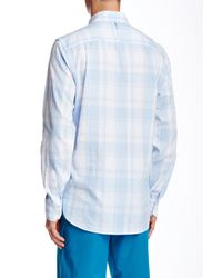 Victorinox - Blue Villamont Tailored Fit Long Sleeve Shirt for Men - Lyst