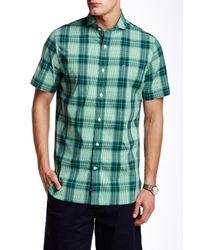 Victorinox - Green Plaid Sportshirt for Men - Lyst