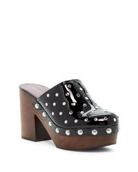 Marc By Marc Jacobs | Black Dylan Nailhead Clog | Lyst